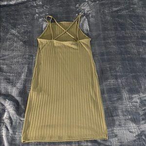 Forever 21 Dresses - Forever 21 military green bodycon dress